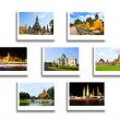 Thailand travel background concept — Stock Photo