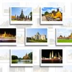 Thajsko cestovní pozadí koncepce — Stock fotografie #27712781