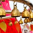 Buddhist bells in Wat Saket (The Golden Mount), Bangkok, Thailan — Stock Photo #27816617