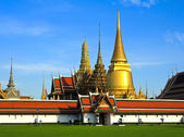 Wat pra keo, grand palace, bangkok, thailand. — Stockfoto