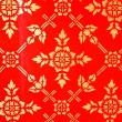 Thai traditional pattern — Stock Photo