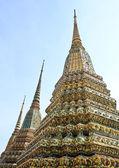 Ancient Pagoda or Chedi at Wat Pho Temple, Thailand — Stock Photo
