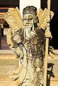 Chiński rzeźba w świątyni wat pho, bangkok, tajlandia — Zdjęcie stockowe