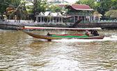 Lodí na řeky chaophraya — Stock fotografie