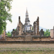 Sukhothai historical park, the old town of Thailand in 800 year — Stock Photo #28075877
