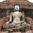 Stock Photo: Ancient buddhstatue. Sukhothai historical park, old town o