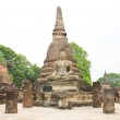 Sukhothai historical park, the old town of Thailand in 800 year — Stock Photo #28076681