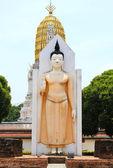 ват пхра шри раттана mahathat храм, phitsanulok, таиланд — Стоковое фото