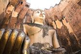 Big Buddha in Wat Si Chum at Sukhothai Historical park, Thailand — Stock Photo