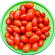 Fresh rosa tomatoes. — Stock Photo