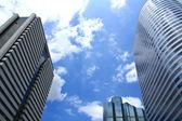 Edifici per uffici nel centro business — Foto Stock