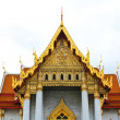 Traditional Thai architecture, Wat Benjamaborphit or Marble Temp — Stock Photo