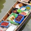 Stock Photo: Traditional floating market , Thailand.