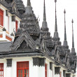 Iron temple Loha Prasat in Wat Ratchanatdaram Worawihan, Bangkok — Stock Photo
