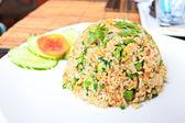 Fried rice ,Thai cuisine. — Stock Photo