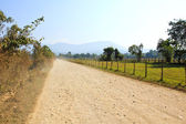 On a rural road ,Vang Vieng ,Laos. — Stock Photo