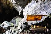 The Buddhist Cave of Pukham near Vang Vieng ,Laos. — Stock Photo
