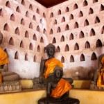 Buddha Image at Wat Si Saket in Vientiane, Laos. — Stock Photo #41175535