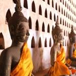 Buddha Image at Wat Si Saket in Vientiane, Laos. — Stock Photo #41175813