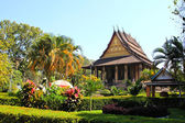 Haw Phra Kaew, Vientiane, Laos. — Stock Photo