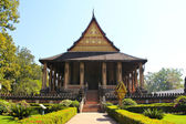 Haw Phra Kaew, Vientiane, Laos. — Stock Photo