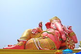 The biggest Ganesha statue in temple,Thailand. — Stock Photo
