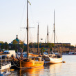 Sunset in Stockholm — Stock Photo