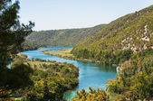 Río krka, croacia — Foto de Stock
