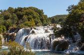 Cascade, parc national de krka, croatie — Photo