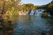 Cascade, parc national de krka, croatie — Photo