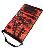 Set tools in oranje geval — Stockfoto