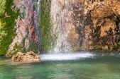 Splashing waterfall — Stock Photo