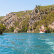 Krka river in Croatia — Stock Photo