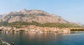 Panoramic view of Makarska — Stock Photo
