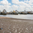 Thames Barrier in London — Foto de Stock