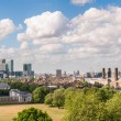 Panoramic view of eastern London — Stock Photo