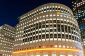The Thomson Reuters Building in Canary Wharf — Stock Photo