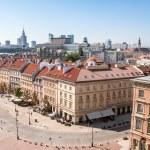 Krakowskie Przedmiescie street in Warsaw — Stock Photo #38017131
