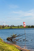 Lake in Ryn, Masurian Lakes — Stock Photo