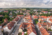 Panorama of Reszel in Poland — Stock Photo