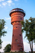 The Water Tower in Gizycko — Stock Photo