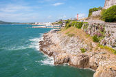 Coastline in Plymouth — Stock Photo
