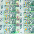 Banknotes of 100 PLN (polish zloty) — ストック写真 #41402195