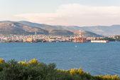 Shipyard in Seget Donji — Stock Photo