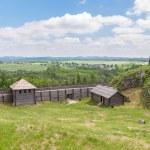 alte Siedlung am Birow Berg — Stockfoto #47504137