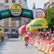 Final stage of Tour de Pologne in Krakow — Stock Photo #51040045