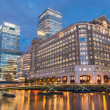 North Dock in Londons docklands at night — Stock Photo #51076319