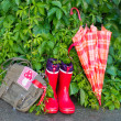 Young scout equipment — Stock Photo #27201281