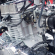Motorcycle engine — Foto Stock