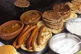 Balkan food — Stock Photo